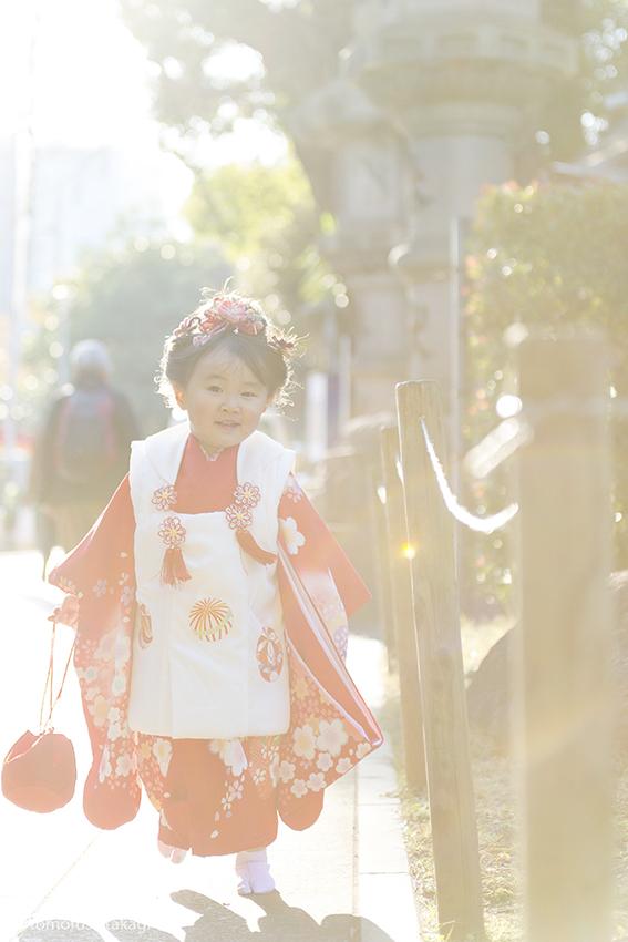 七五三★ロケーション★豊川稲荷東京別院