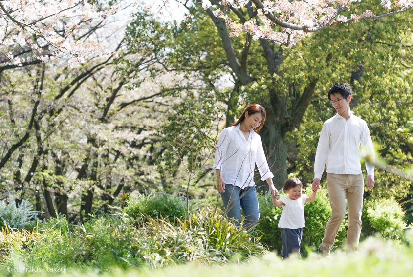 ファミリー撮影会★桜ロケーション★辰巳の森緑道公園