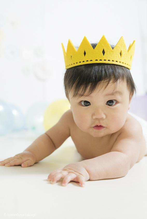 出張撮影★ハーフバースデー★おうちスタジオ