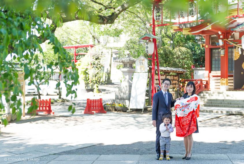出張撮影★お宮参り★居木神社