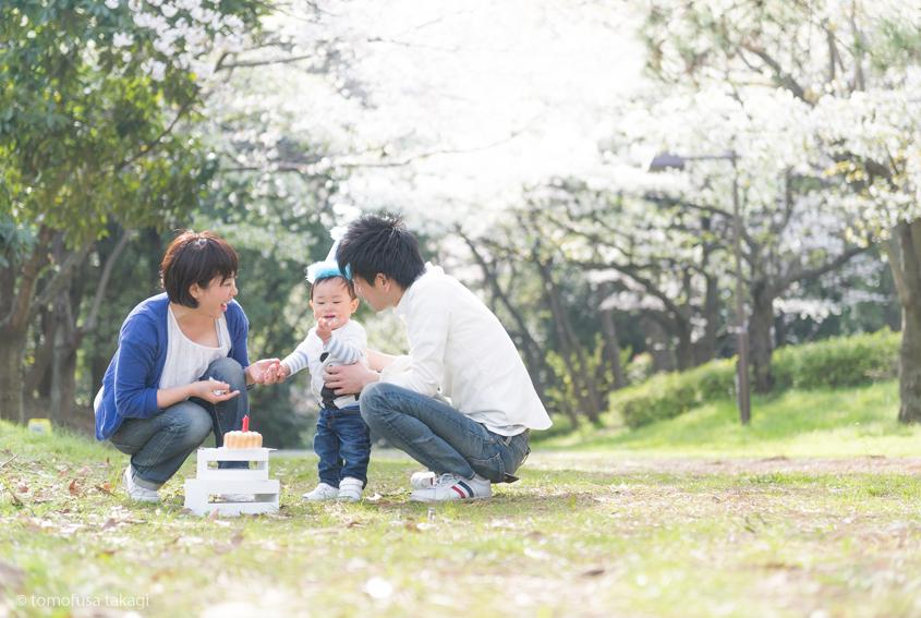 出張撮影★1歳誕生日★公園ロケ