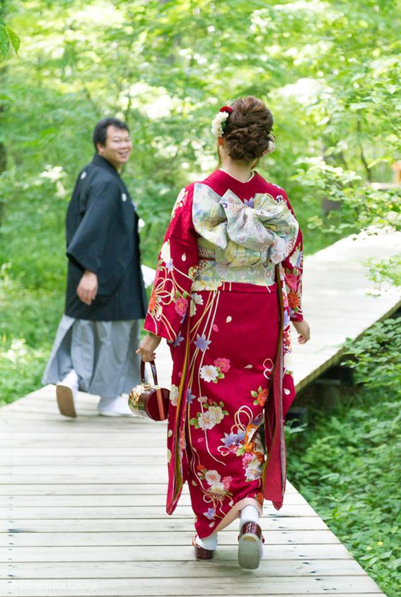 出張撮影★ウエディングフォト★公園ロケーション