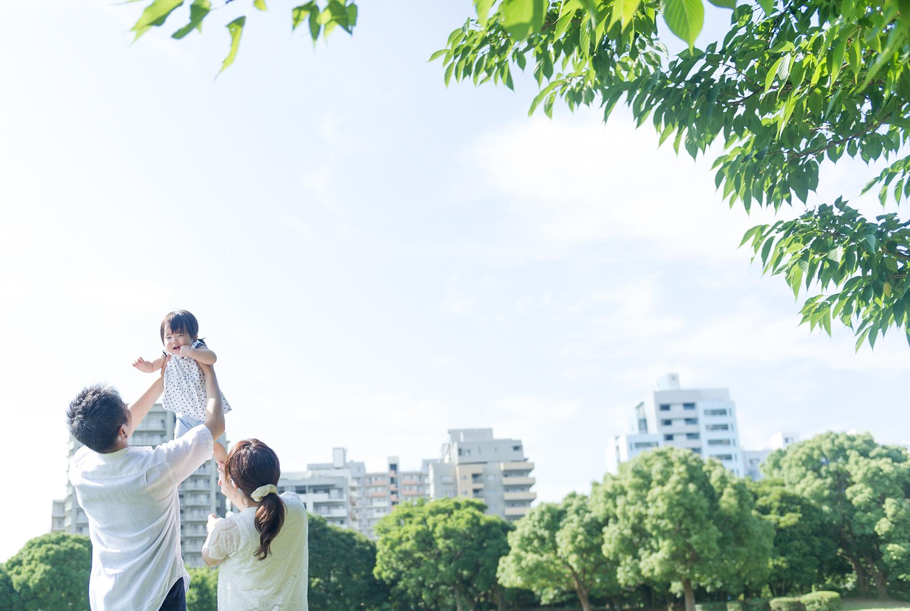 出張撮影☆家族写真☆1歳誕生日☆幕張海浜公園