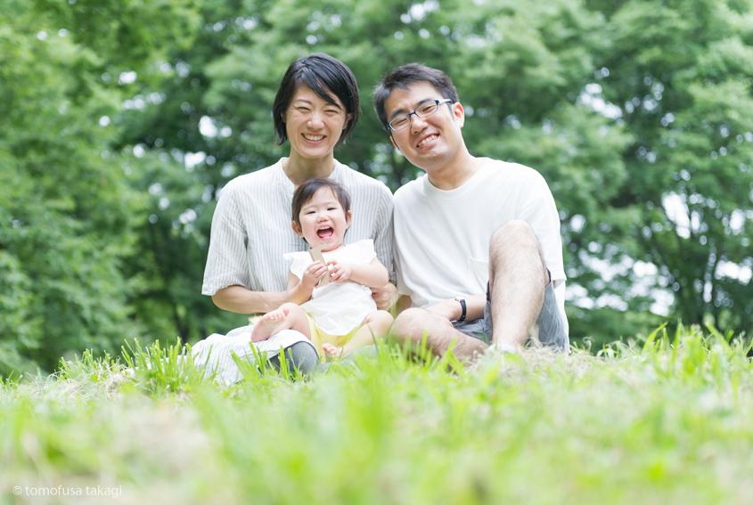 出張撮影☆家族写真☆1歳誕生日☆代々木公園