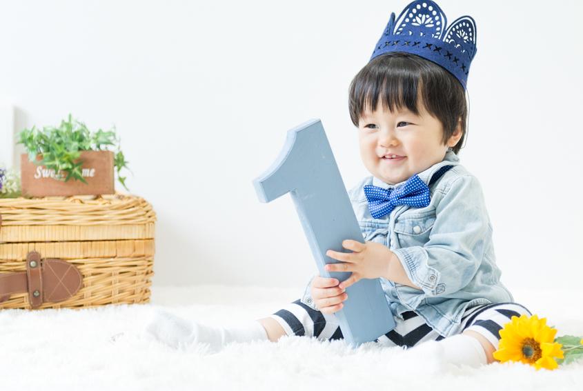 出張撮影☆家族写真☆1歳誕生日☆スタジオ撮影