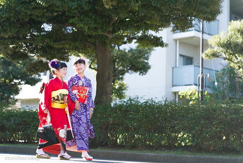 出張撮影☆七五三☆7歳☆稲毛浅間神社