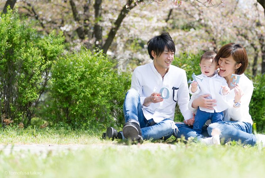 ファミリー撮影会☆桜ロケーション☆辰巳の森緑道公園