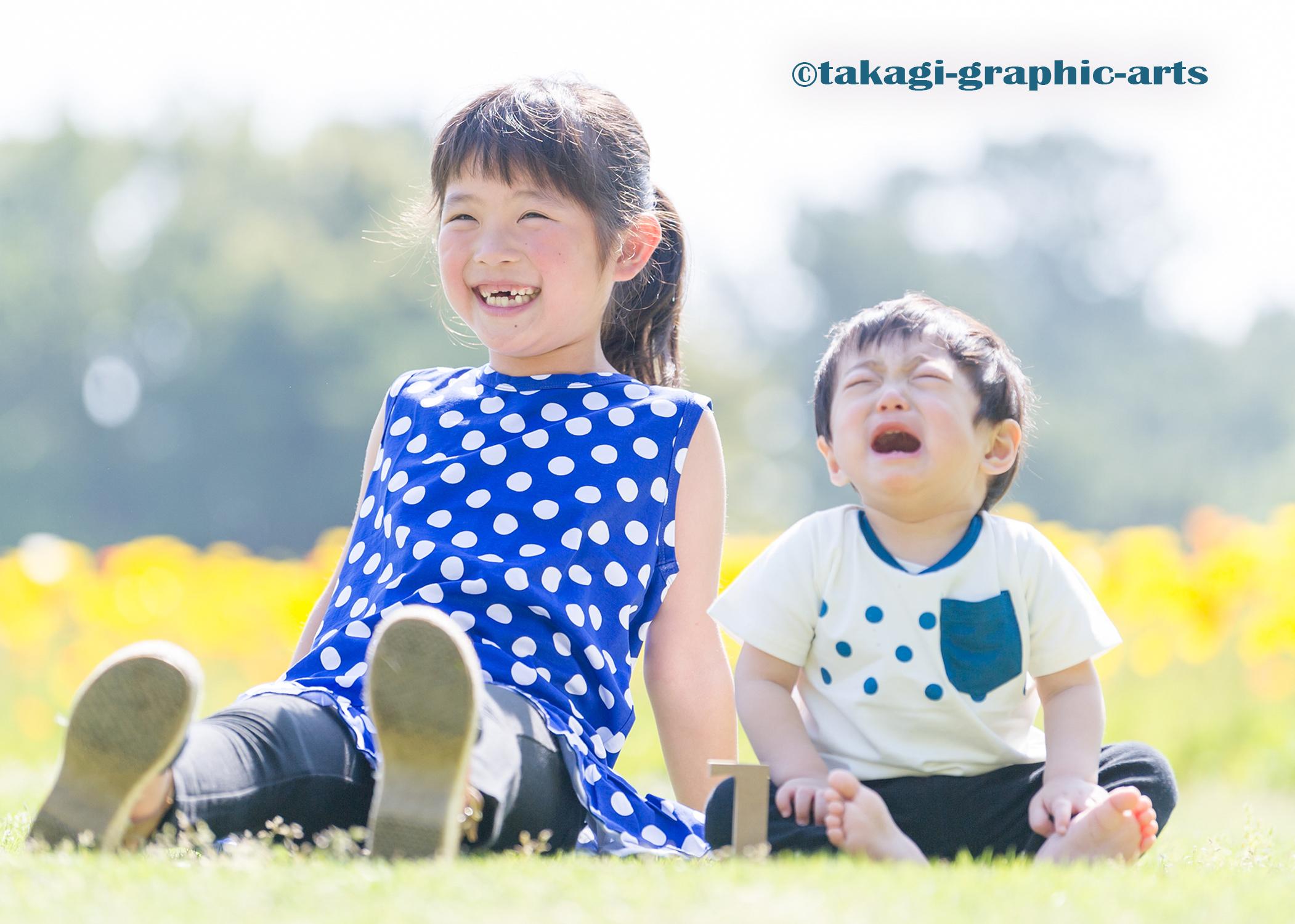 出張撮影/家族写真/1歳誕生日/稲毛海浜公園
