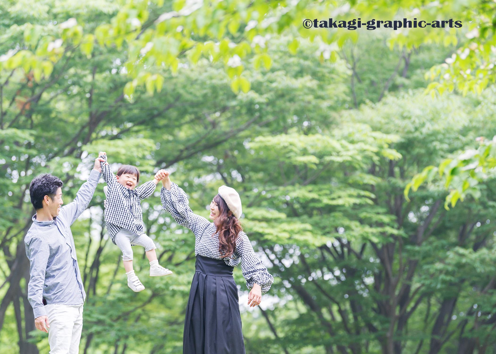 出張撮影/家族写真/2歳誕生日/府中の森公園