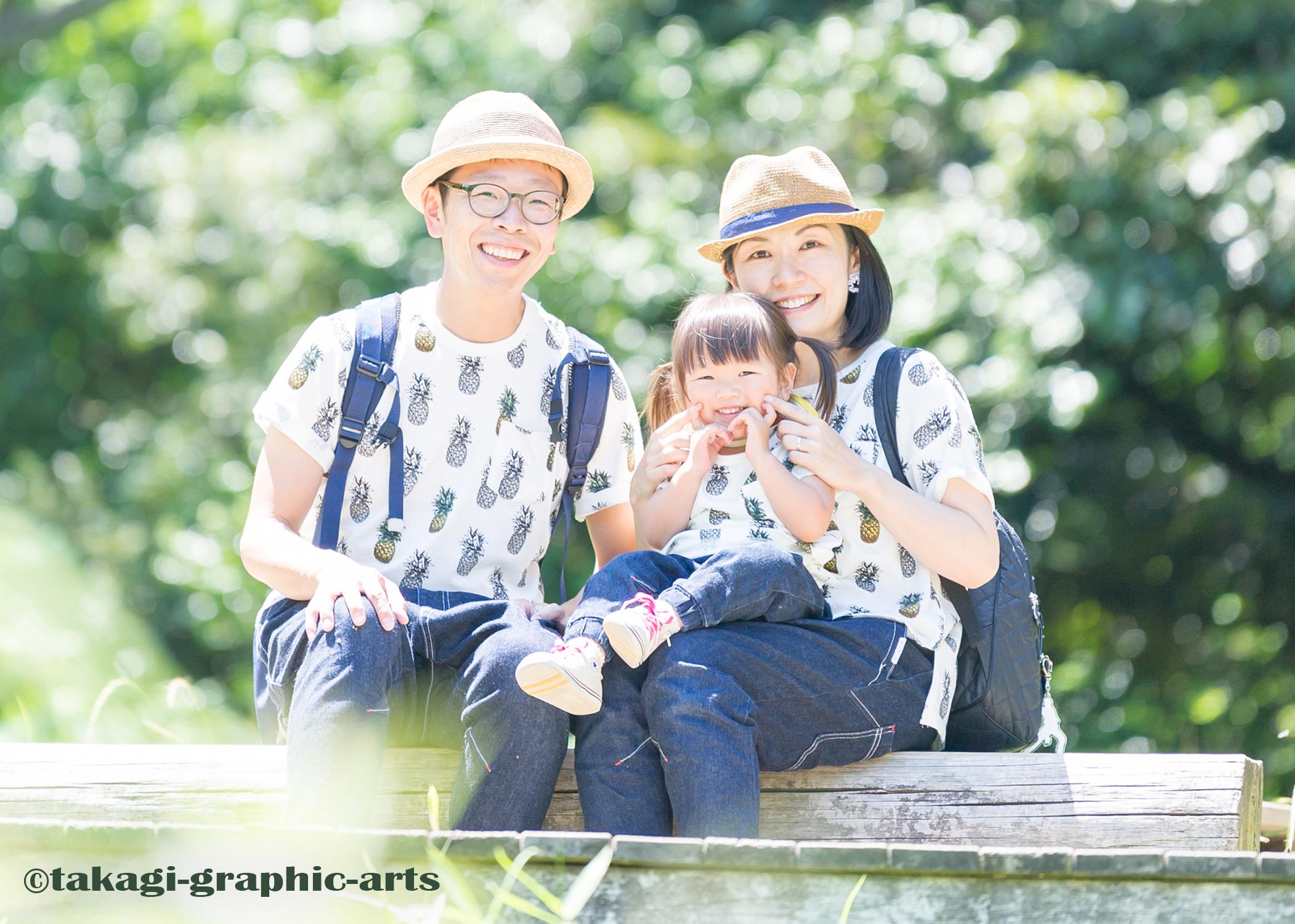 出張撮影/家族写真/2歳誕生日/三ツ池公園