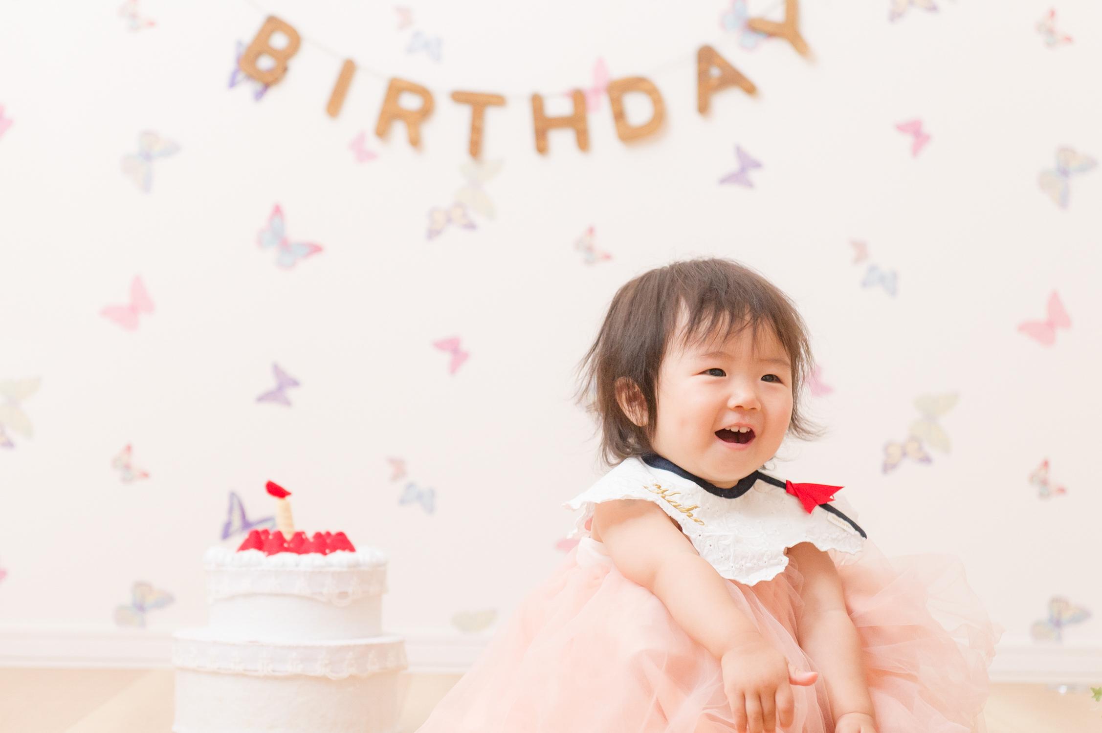 出張撮影/家族写真/1歳誕生日/御自宅