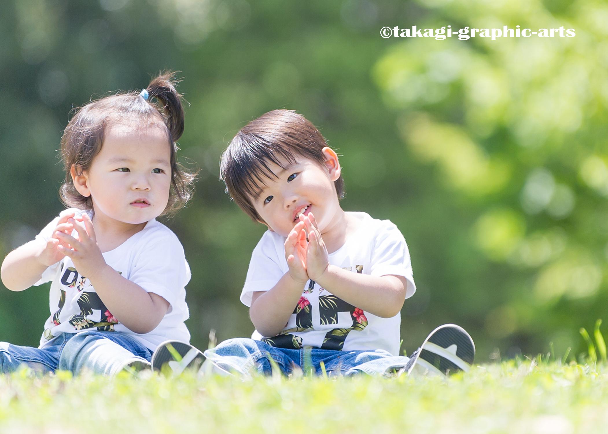 出張撮影/家族写真/2歳誕生日/葛西臨海公園