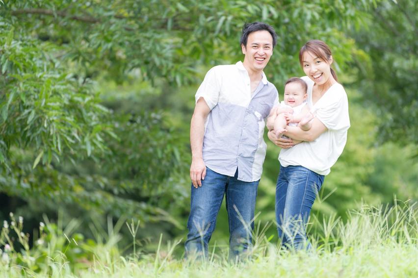 出張撮影/家族写真/ハーフバースデー/玄海田公園