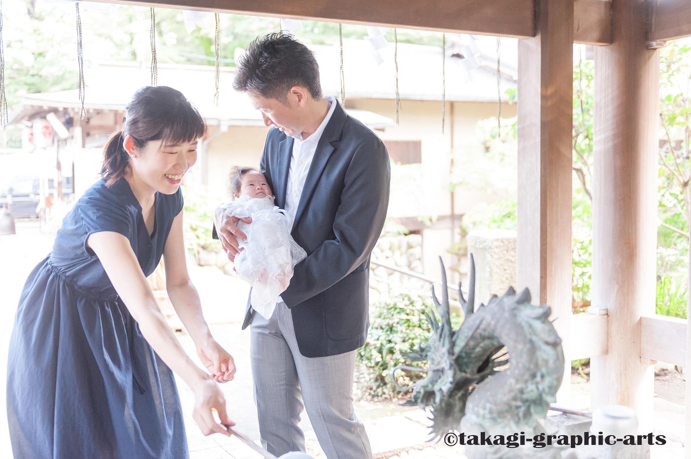 出張撮影/お宮参り/所澤神明社/埼玉県